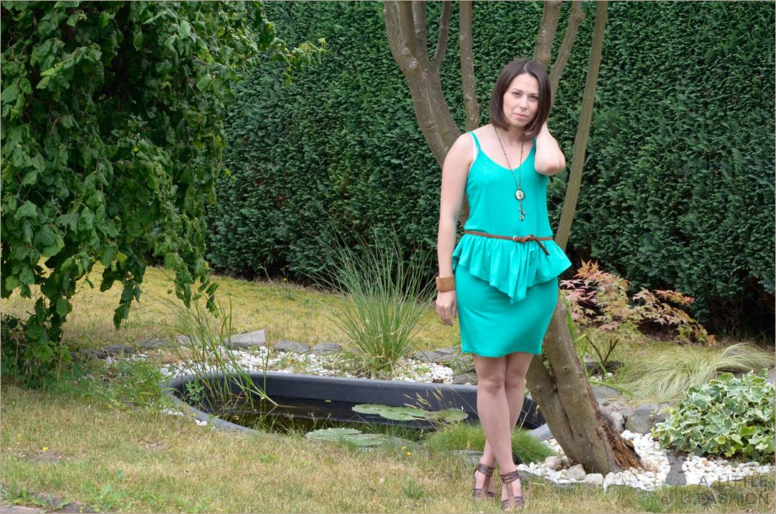 Outfit: DIY-Schößchenkleid