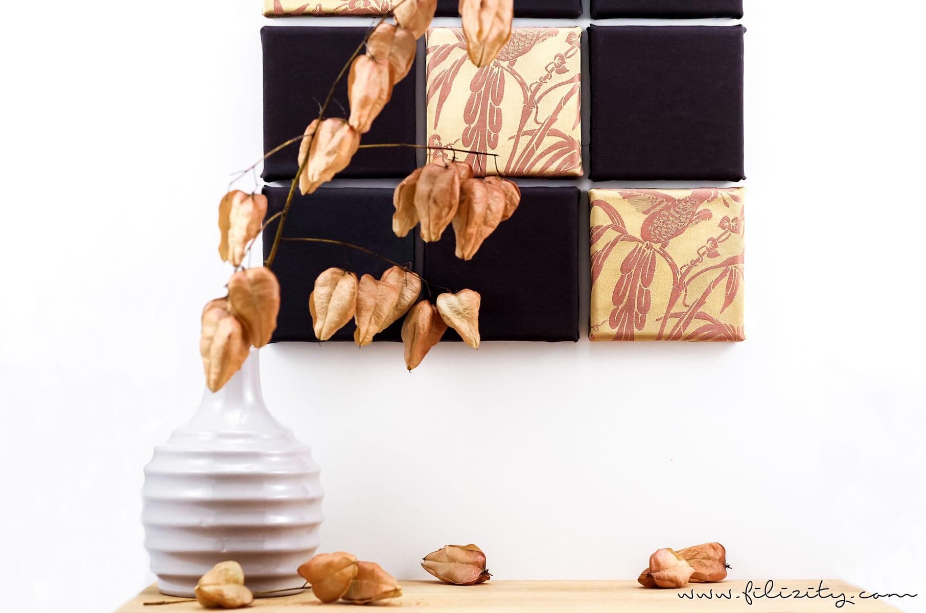 wanddeko aus altem m nnerhemd selber machen diy blog aus koblenz. Black Bedroom Furniture Sets. Home Design Ideas