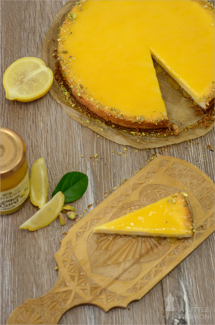 Rezept: Lemoncurd Cheesecake