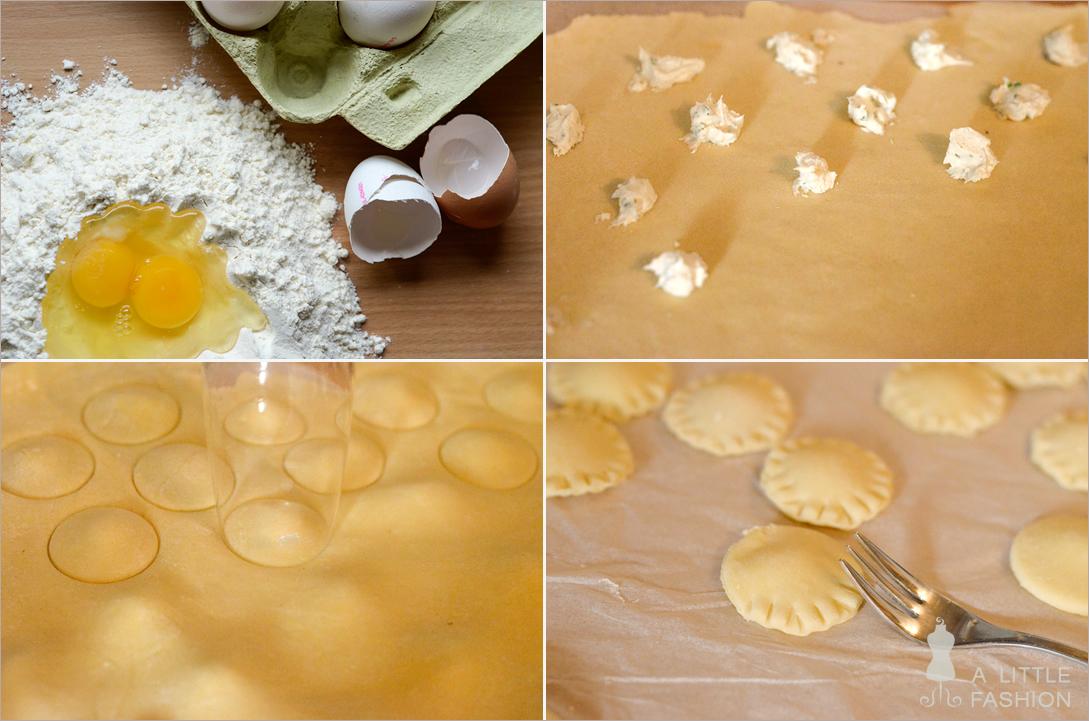 Rezept: Ravioli mit Ziegenkäsefüllung