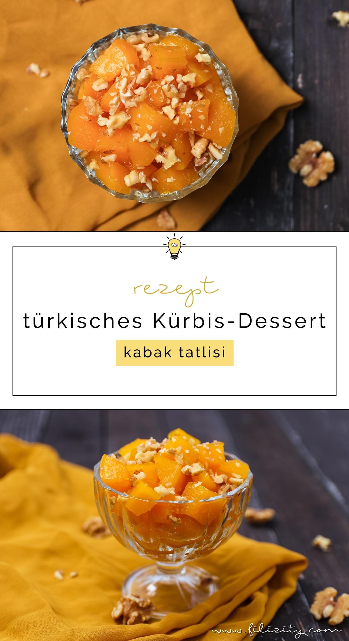 Herbst-Rezept: Türkisches Kürbis-Dessert (Kabak Tatlisi) #dessert #kürbis #herbst