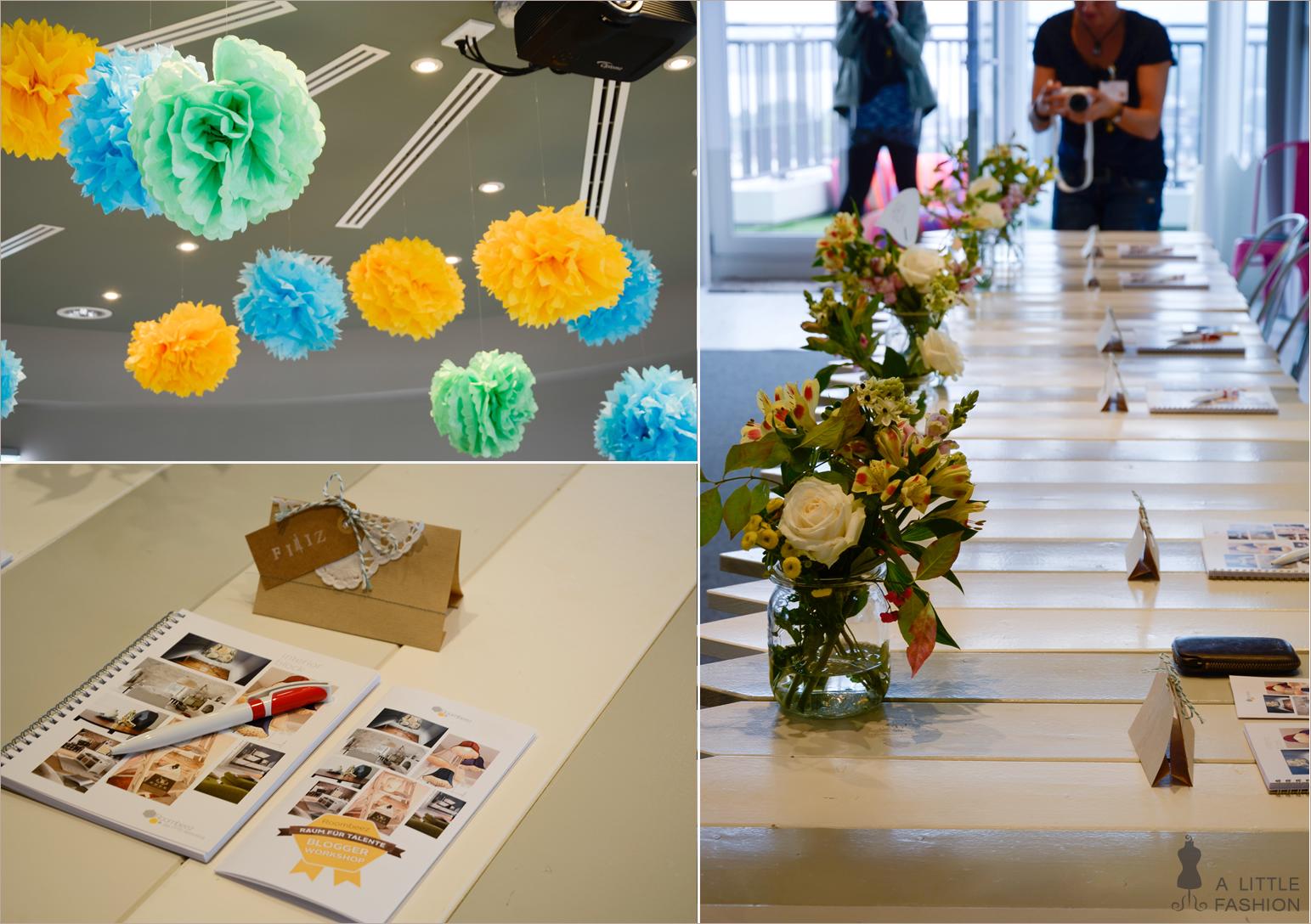 Raum für Talente: Das Blogger-Workshop von Otto