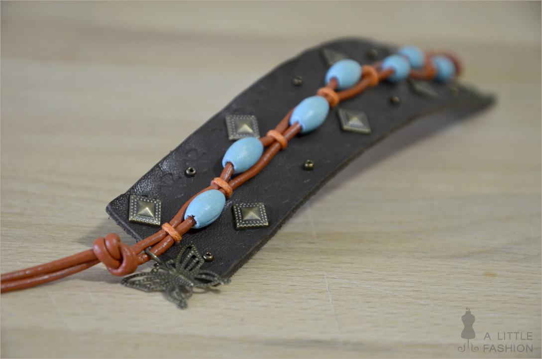 DIY: Boho-Armband aus Leder