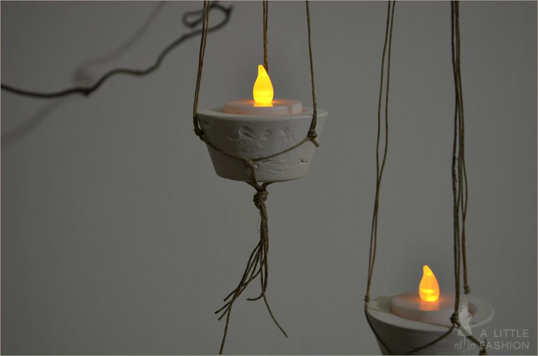 DIY: Hängende Kerzenhalter leicht gemacht