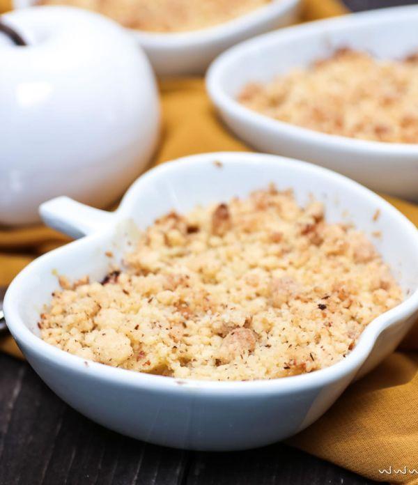 Apfel-Quitten-Crumble – Das perfekte Herbst-Dessert