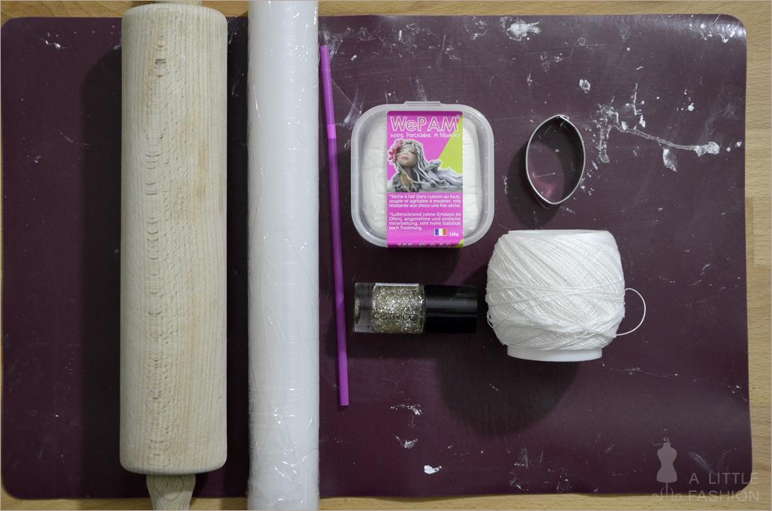 Kaltporzellan-Trick: Perfekt abgerundete Schnittkanten + DIY-Anhänger