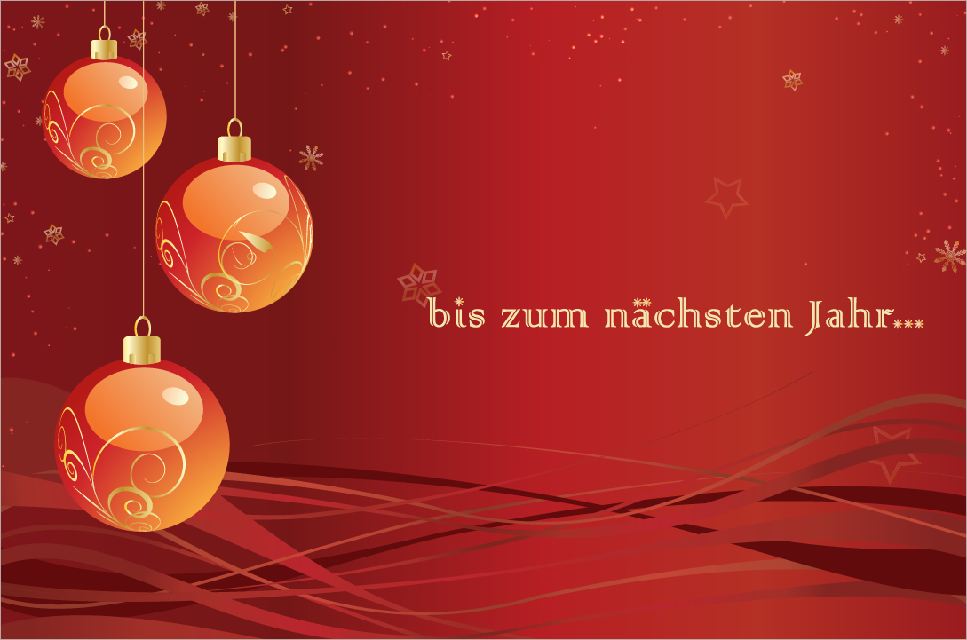 Wir wünschen schon mal eine schöne Weihnachtszeit...