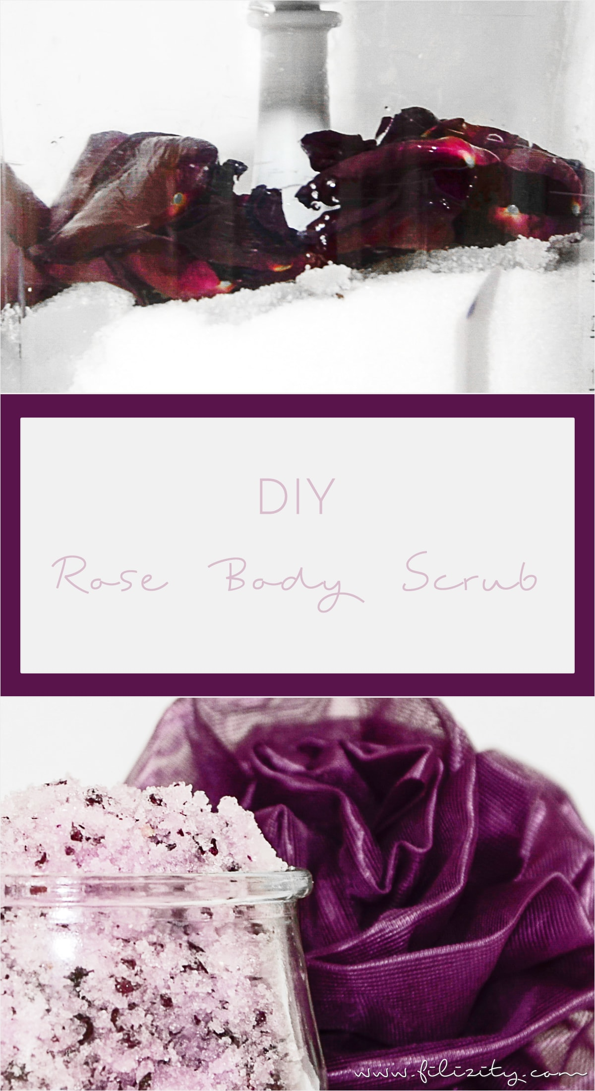 [Rosen mal anders] DIY Body Scrub