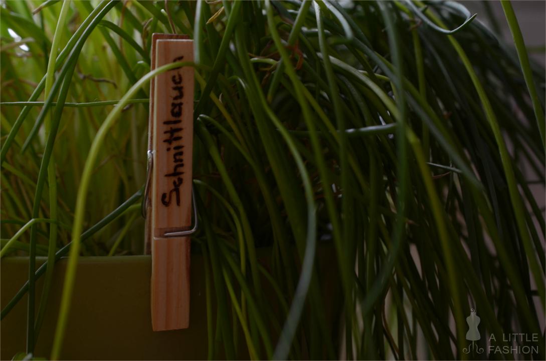 [DIY] Kräuterklammern - Pflanzenstecker mal anders