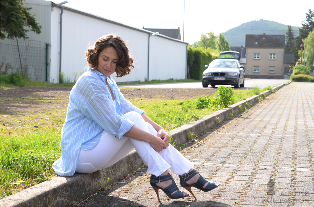 Almost white – leichtes Sommer-Outfit