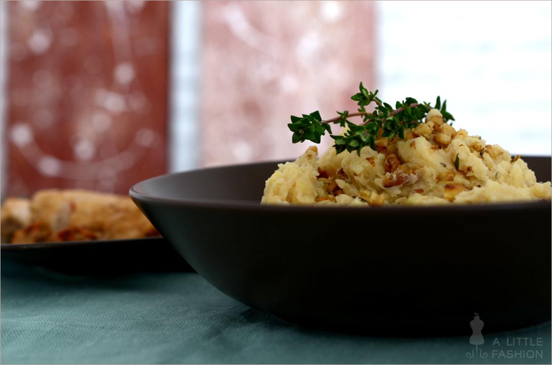 Walnuss-Kartoffel-Püree