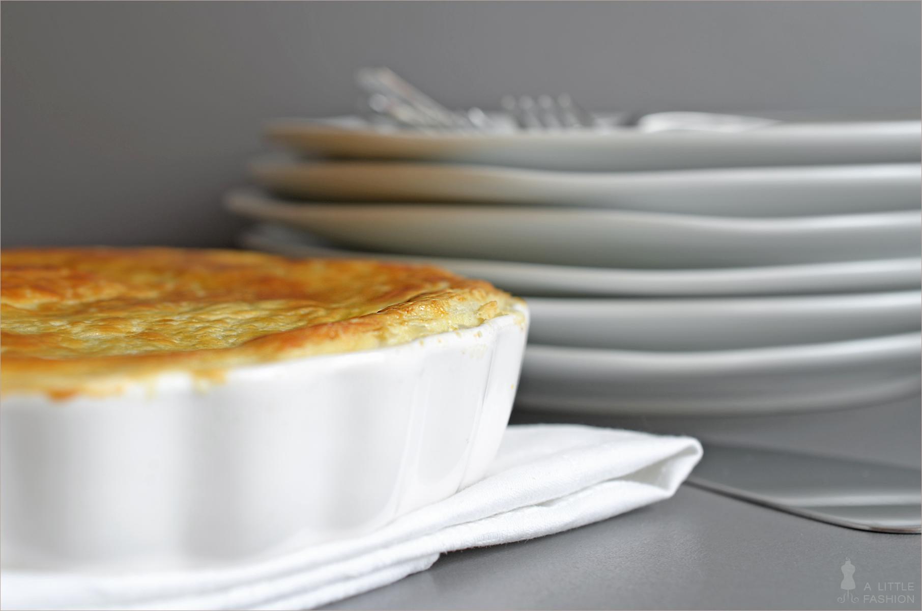 Erbsen-Kartoffel-Tarte