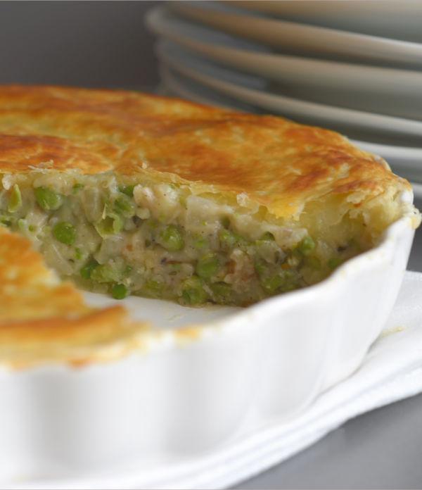 Erbsen-Kartoffel-Tarte  – Eine Hommage an Herrn Grün