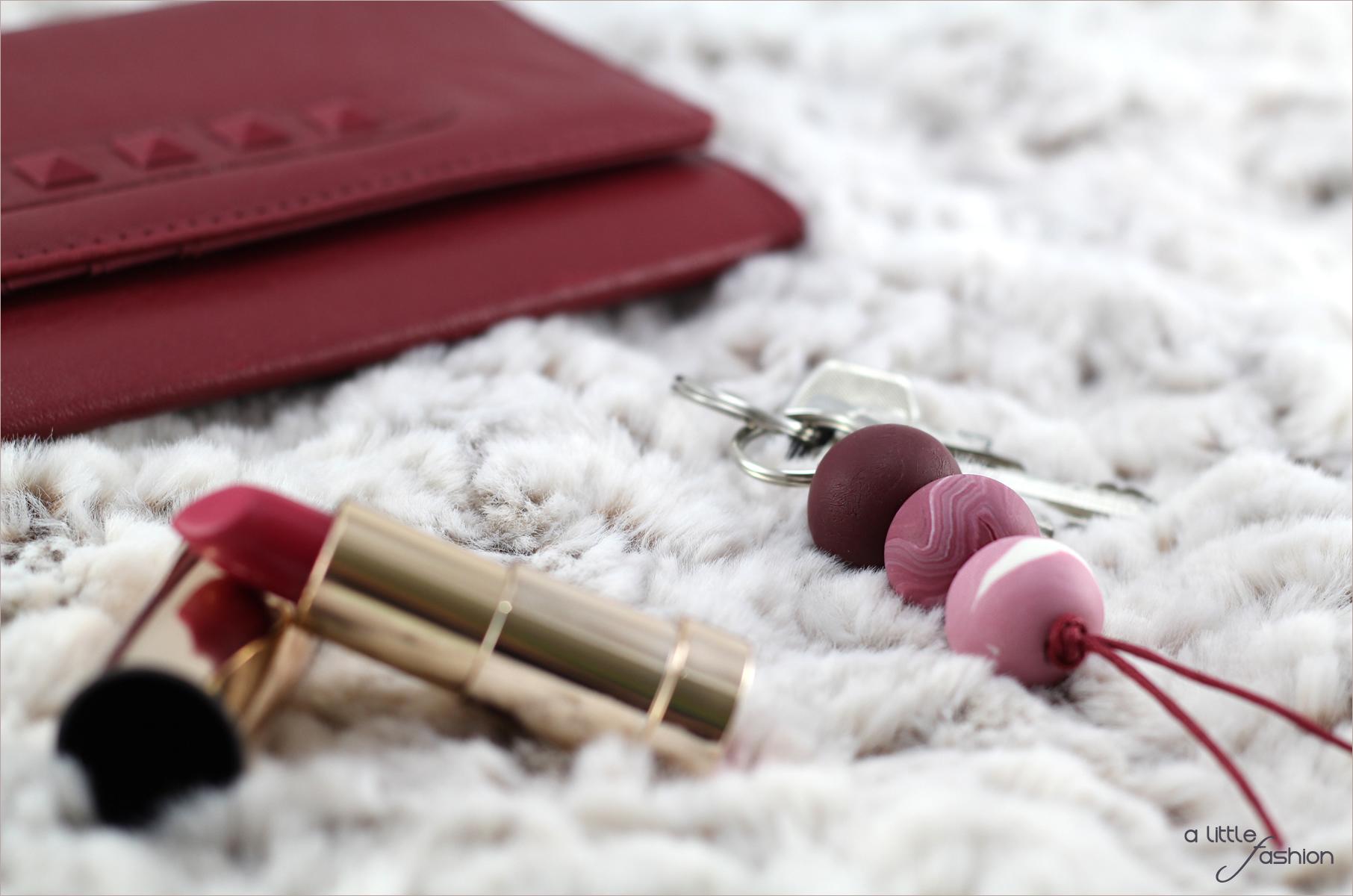 Schicke Schlüsselanhänger aus Kaltporzellan