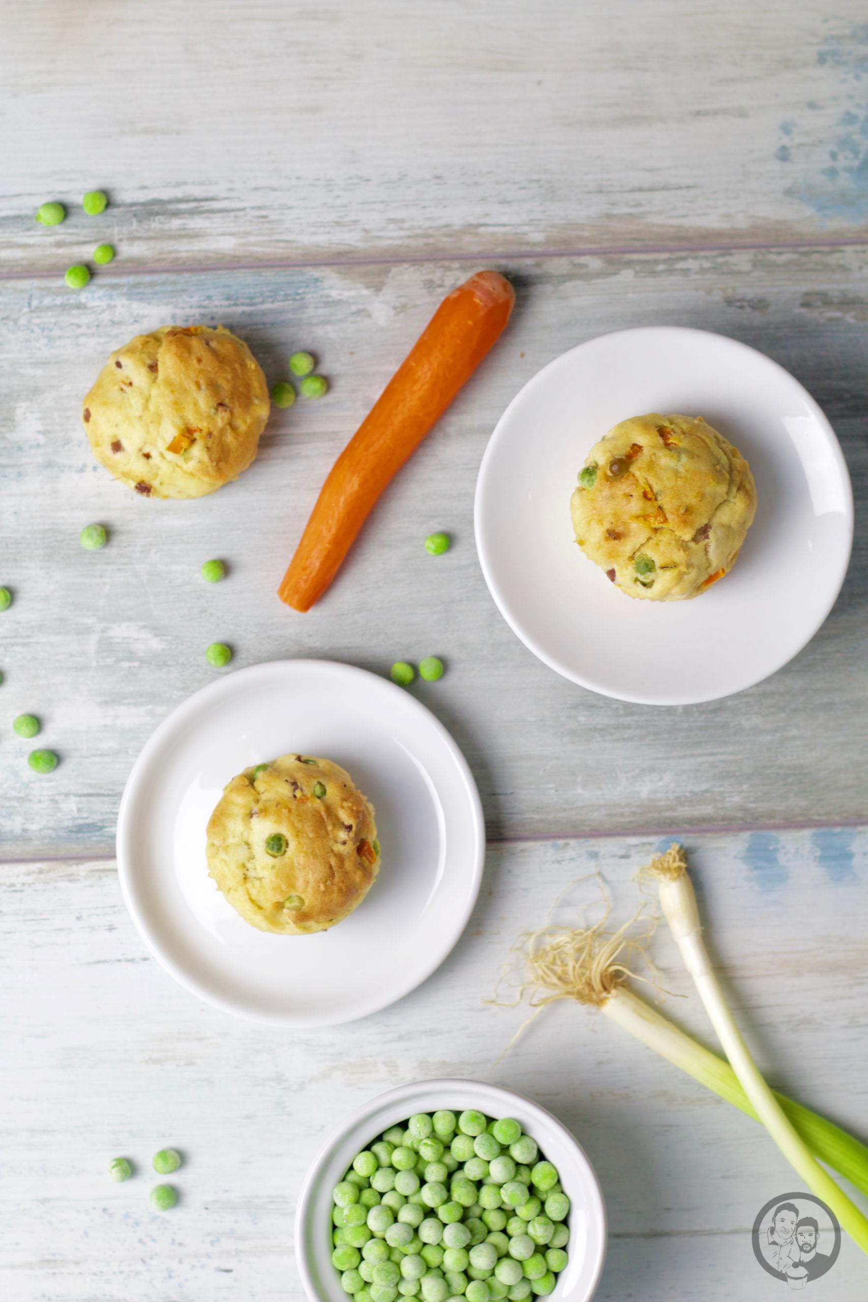 Gemüse-Schinken Muffins _ Die Jungs kochen und backen _ Rezept