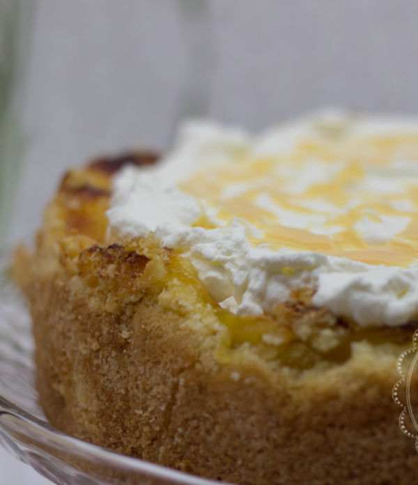 Apfel-Wein-Torte mit Eierlikör (glutenfrei)