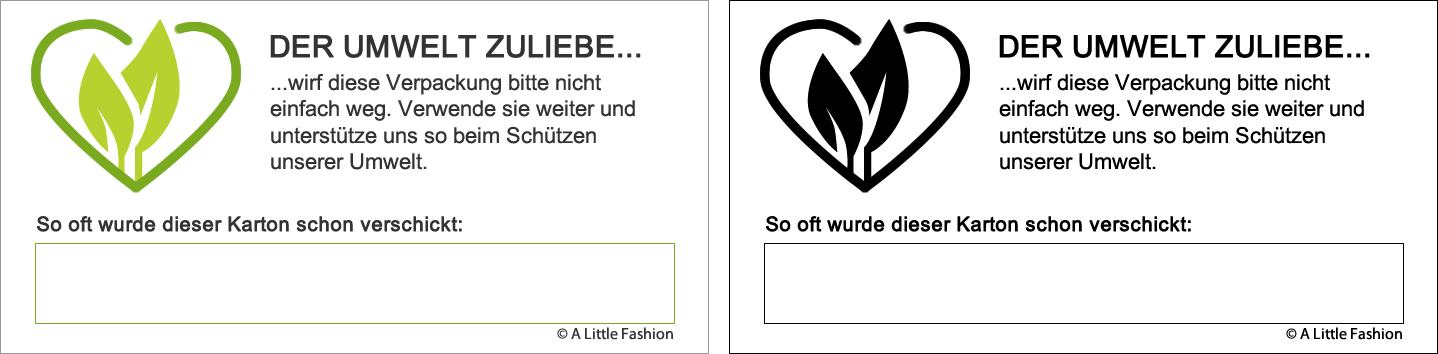 Der Umwelt zuliebe... | A Little Fashion | https://www.filizity.com/der-umwelt-zuliebe
