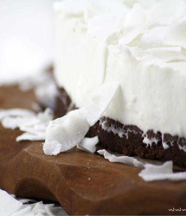 No-Bake Kokos-Mascarpone-Torte
