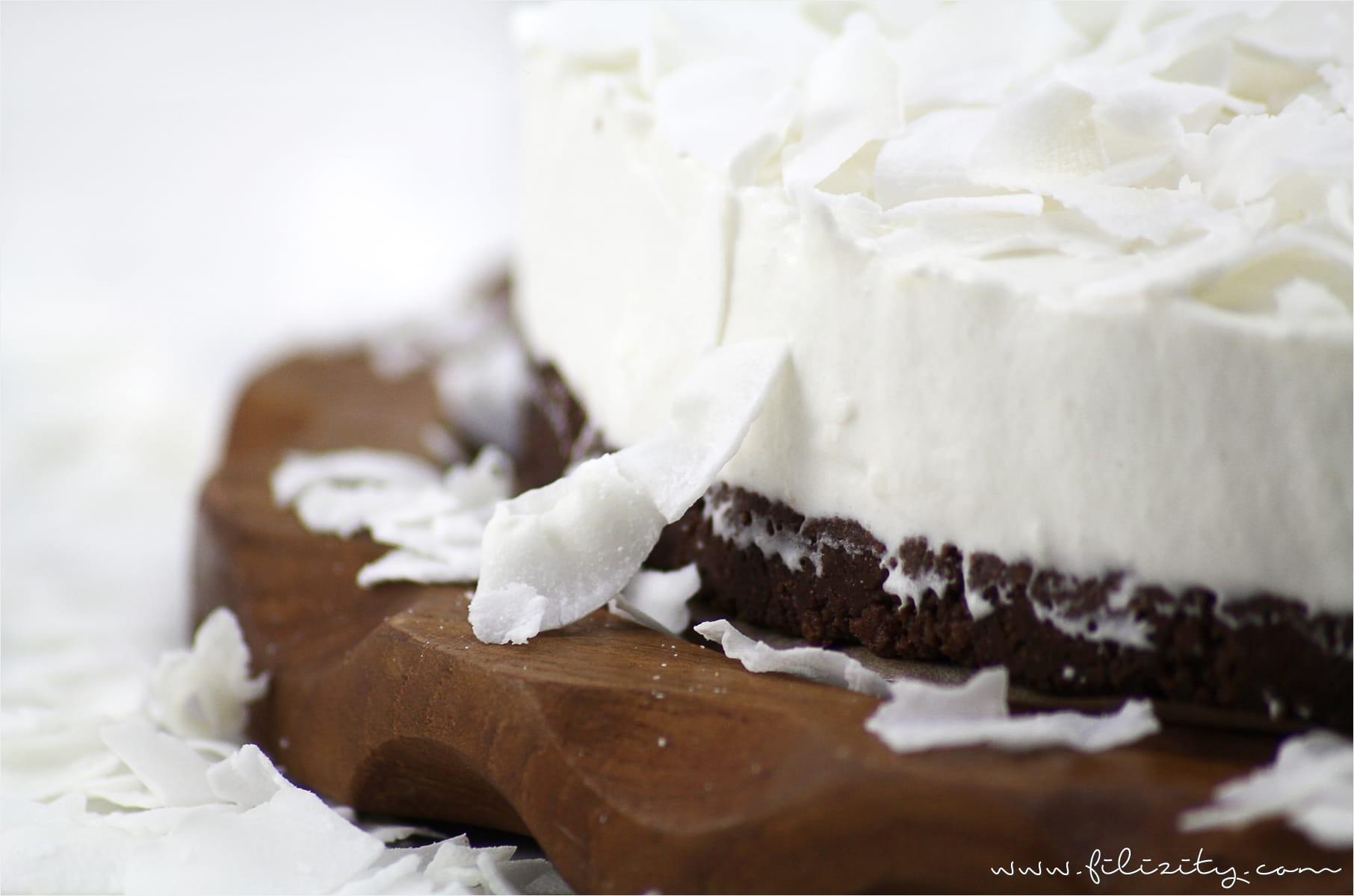 Rezept: No-Bake Kokos-Mascarpone-Torte