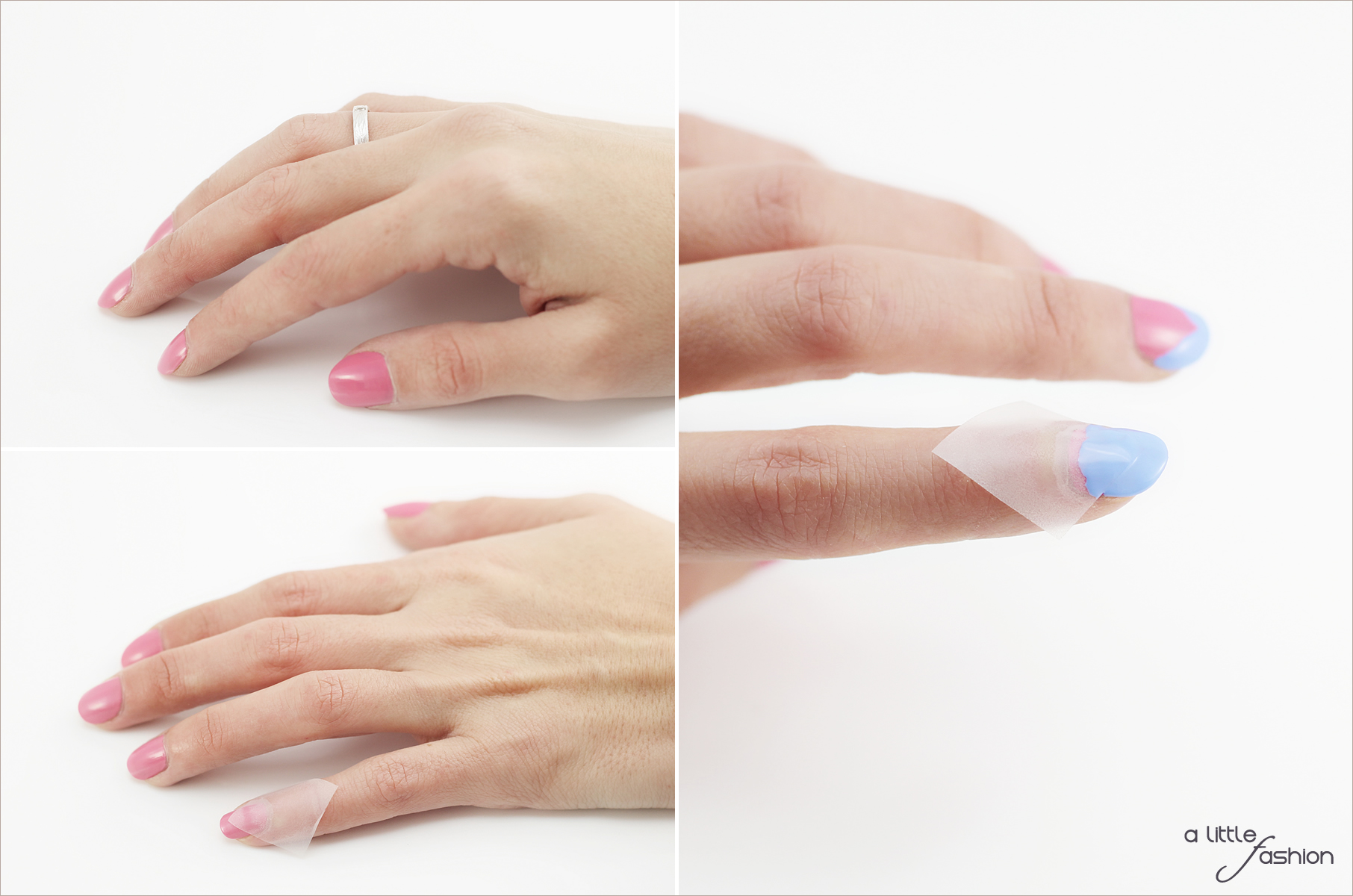 Frühlinghaftes Nageldesign mit Rose Quartz und Serenity  |  A Little Fashion  |  https://www.filizity.com/beauty/nageldesign-rose-quartz-serenity