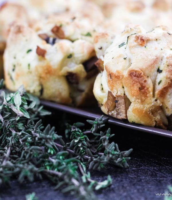 Schnelle Pizza-Muffins – Leckeres Fingerfood für's Party-Buffet