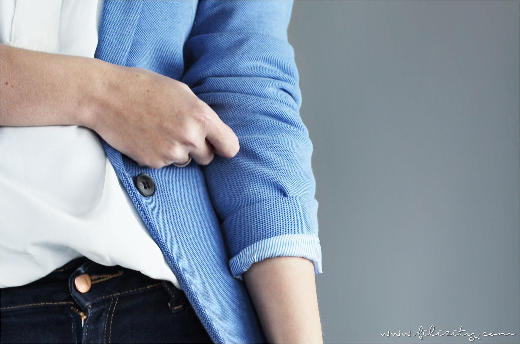 Casual Elegance mit Jeans und Blazer