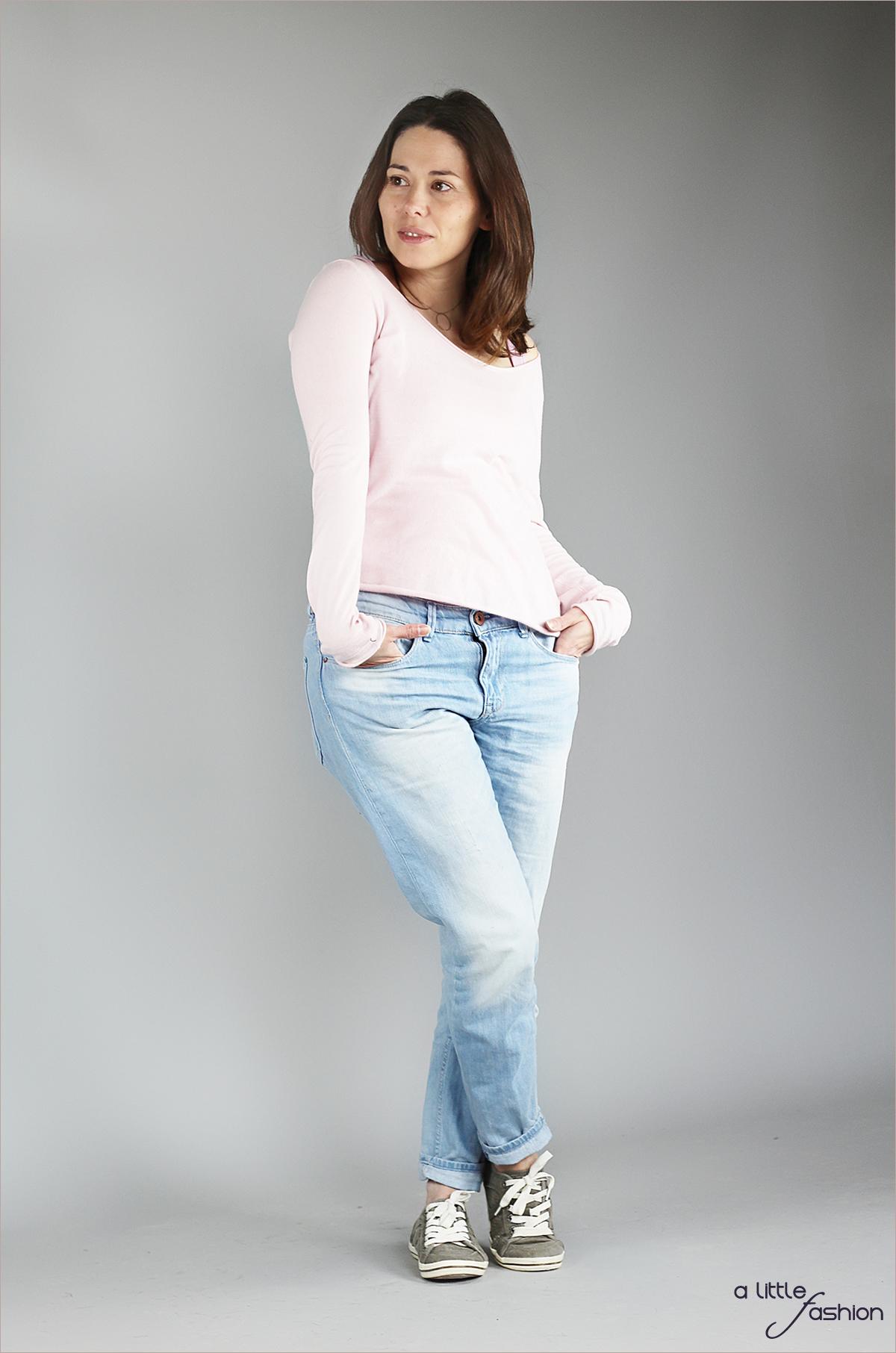 Cozy Outfit mit Rose Quartz & Serenity |