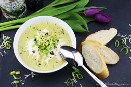 Herbst-Rezept: Kartoffel-Lauch-Suppe mit Käse und Kräutern | Filizity.com | Food-Blog aus Koblenz
