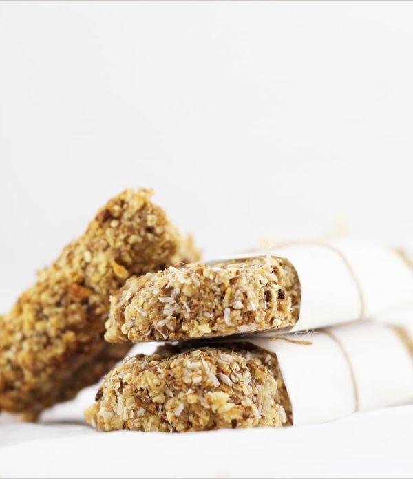 Erdmandel-Quinoa-Riegel