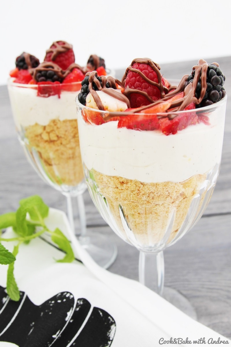 C&B with Andrea - Beeren-Trifle Rezept - www