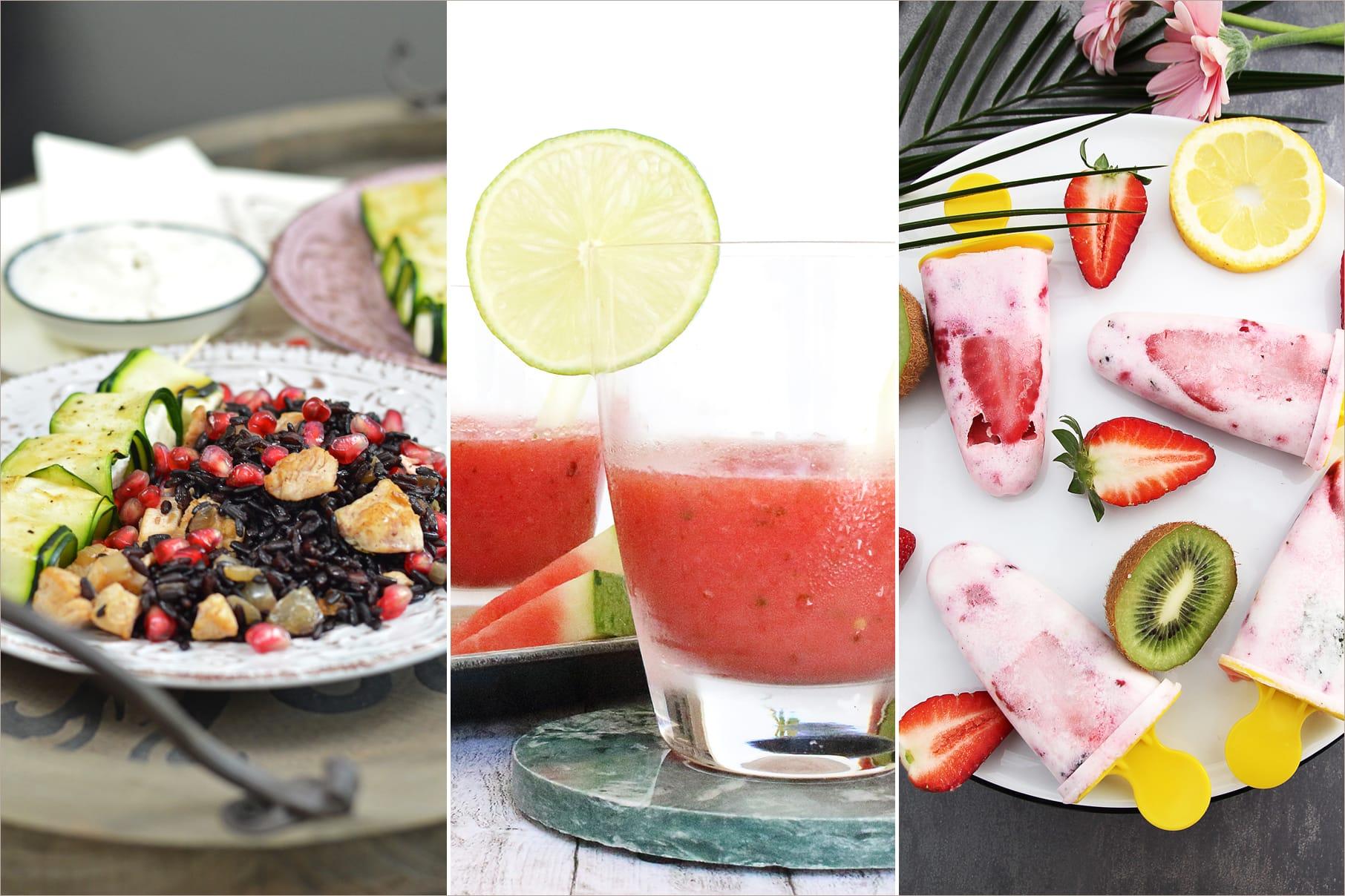 Leckere Sommer-Rezepte im Blogger-CookBook