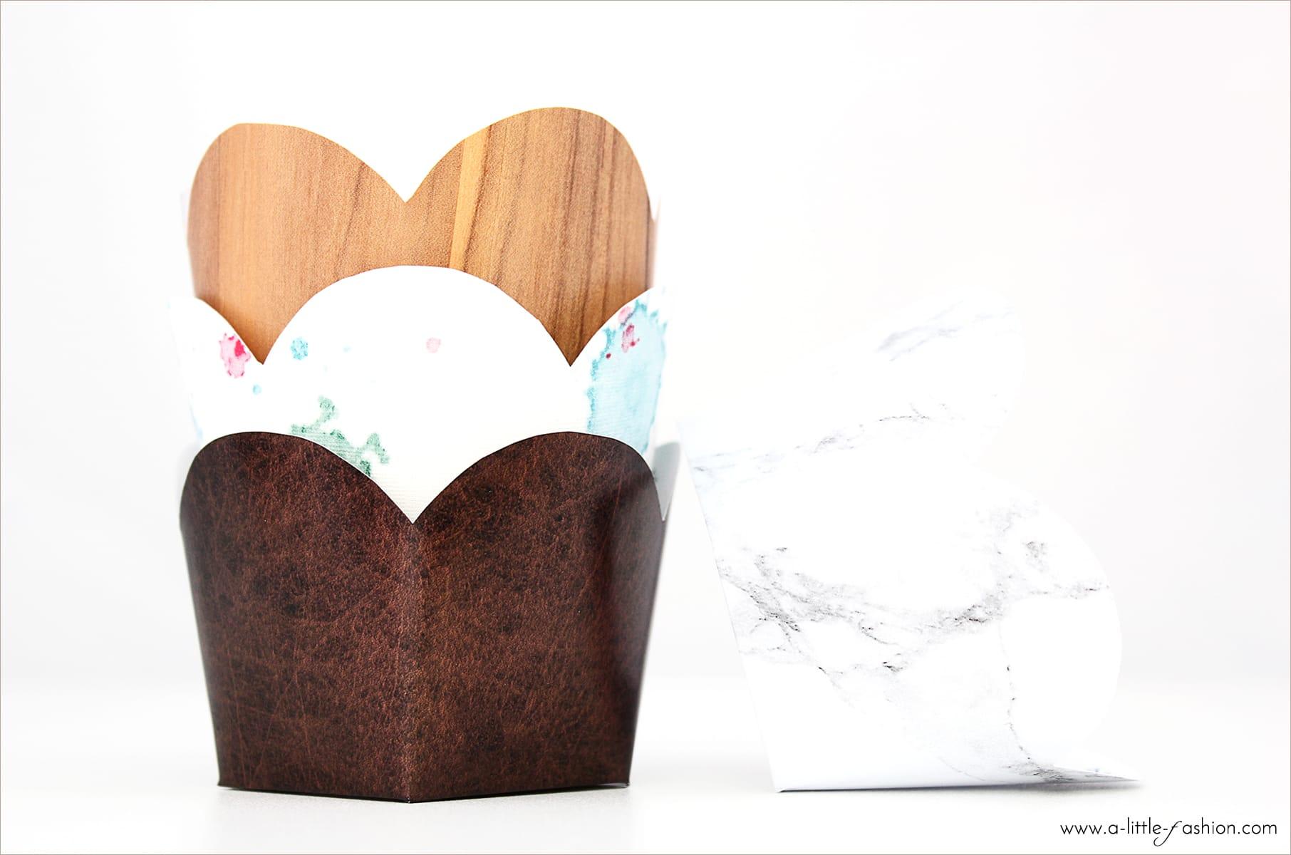muffin f rmchen in wunschdesign selber machen a little fashion der kreativbloga little. Black Bedroom Furniture Sets. Home Design Ideas