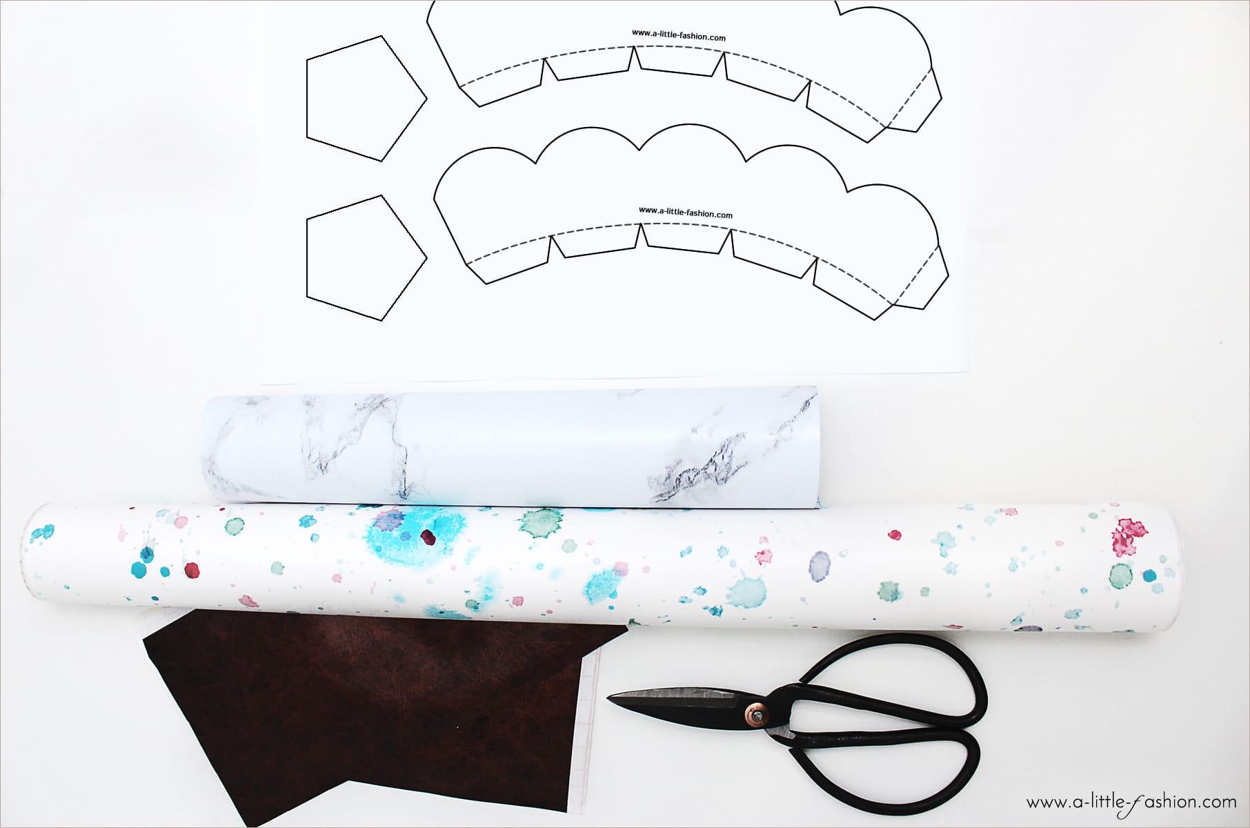 muffin f rmchen in wunschdesign selber machen. Black Bedroom Furniture Sets. Home Design Ideas