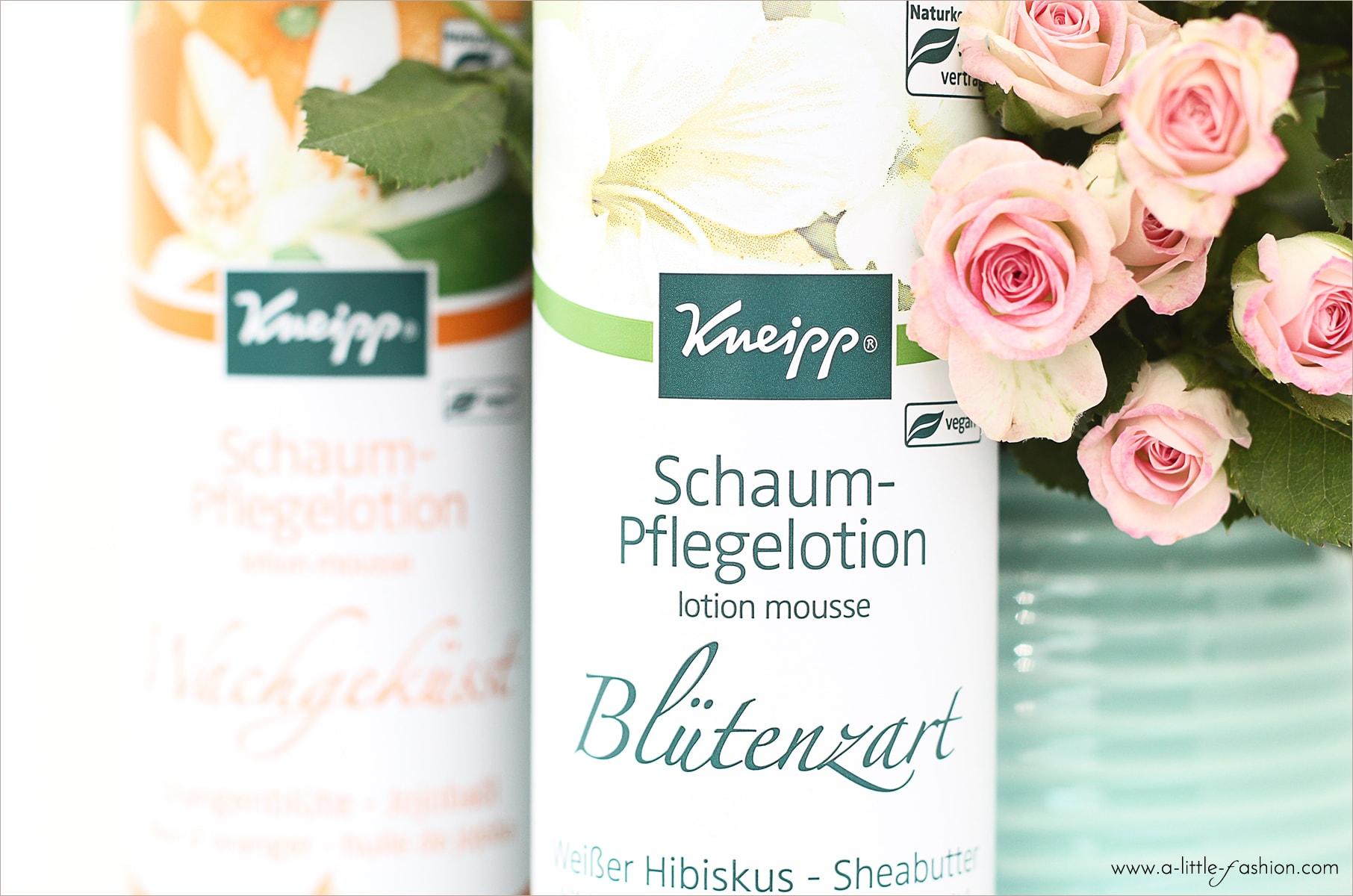 Kneipp Schaumpflege für die Haut - Blütenzart & Wachgeküsst