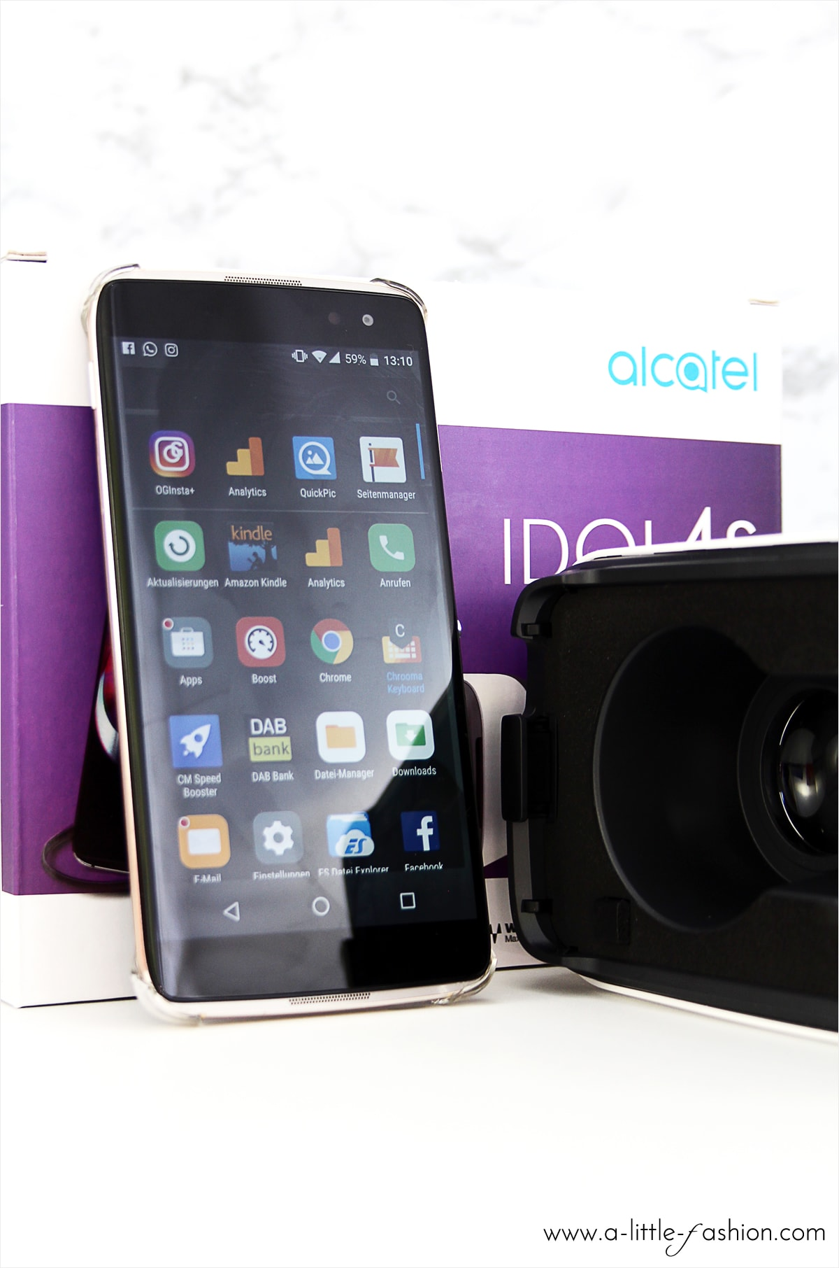 Boom me up! Alcatel Idol 4S | A Little Fashion