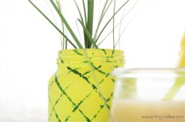 Sommer-Party: DIY Ananas-Vase | A Little Fashion
