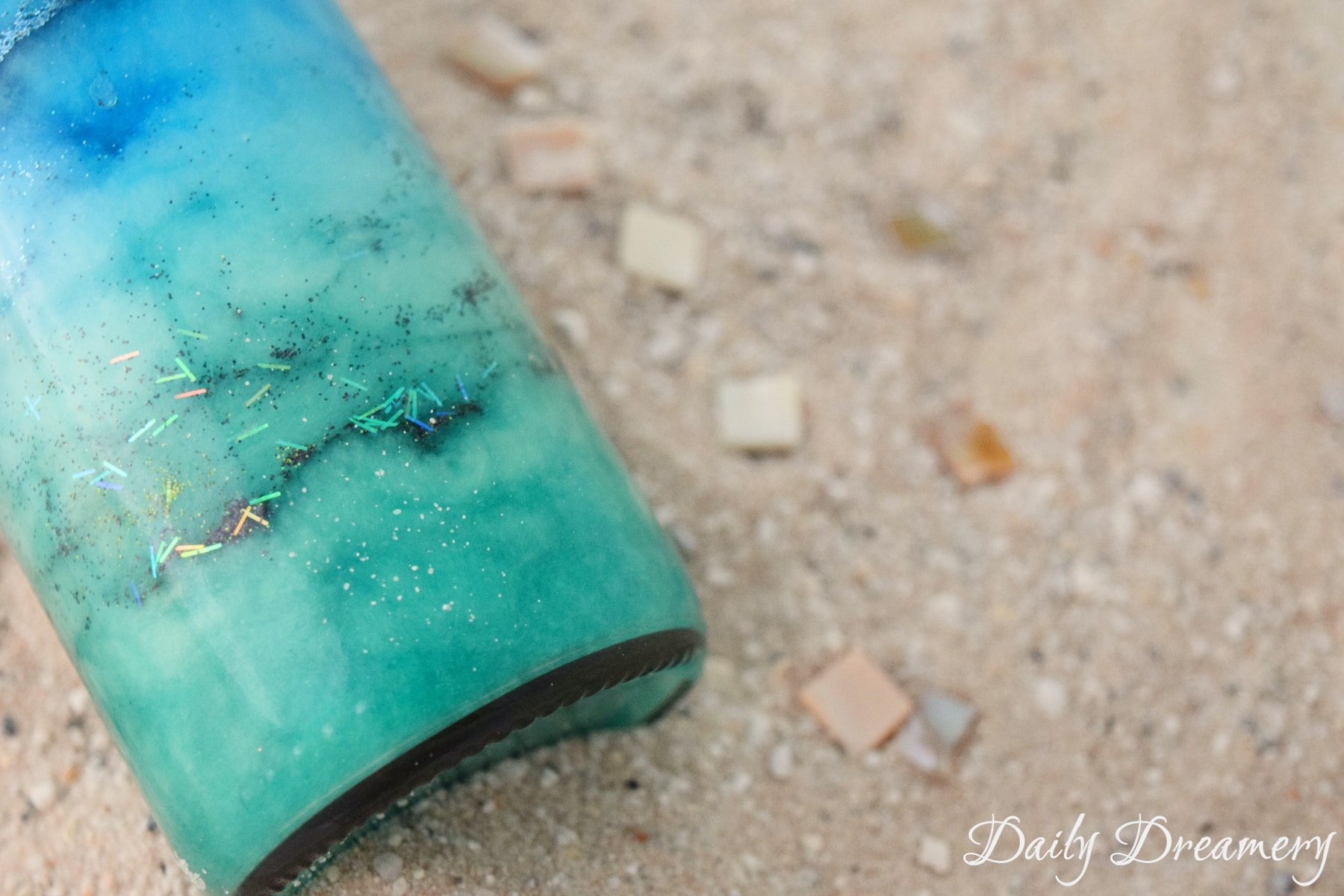 bottled galaxies and oceans