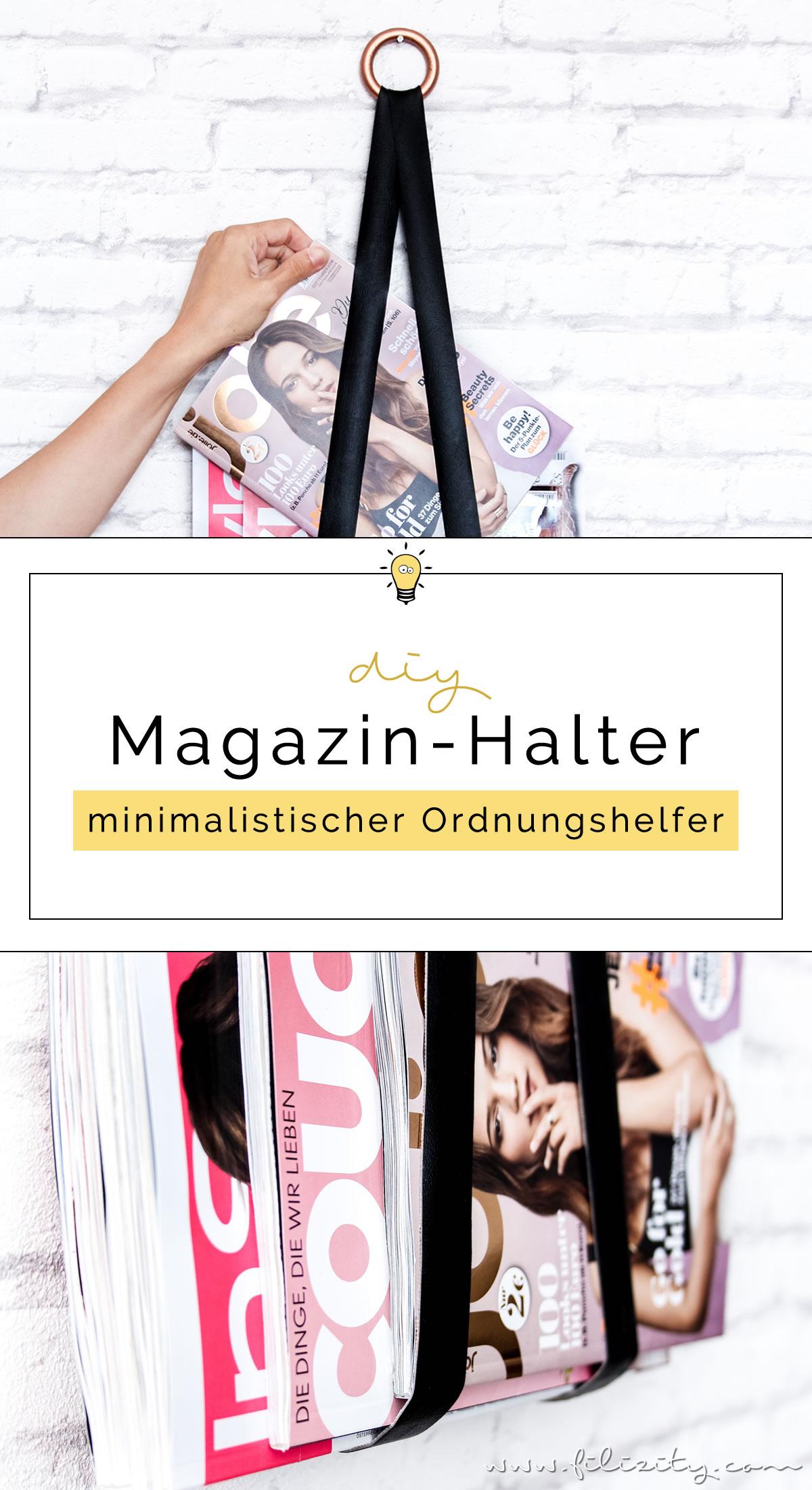 DIY-Deko: Magazin-Halter für Zeitschriften | Minimalistischer Ordnungshelfer im Skandi-Stil | Filizity.com | DIY-Blog aus dem Rheinland #skandi