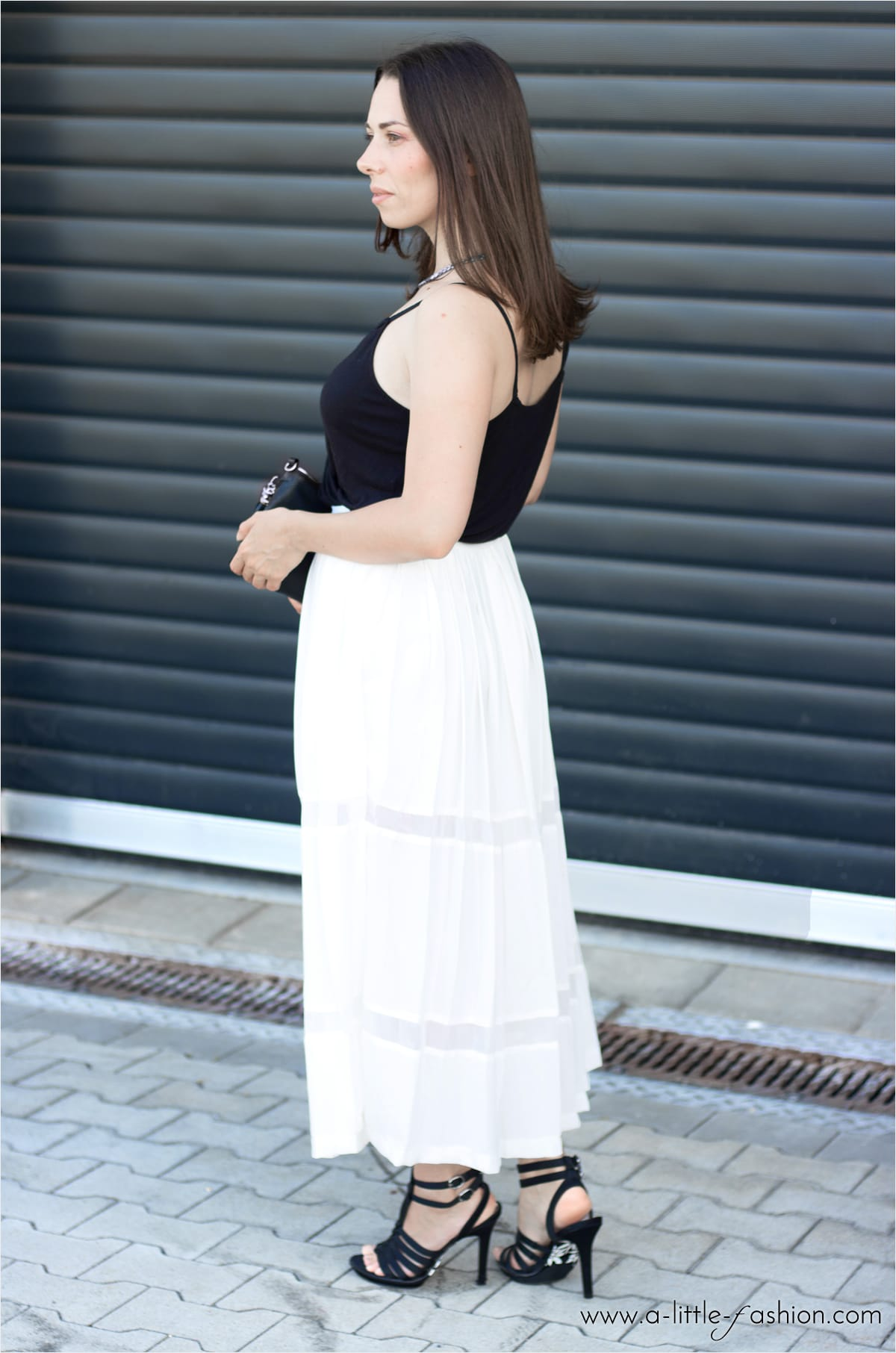 Elegantes Sommer-Outfit mit Plissee-Culotte | A Little Fashion