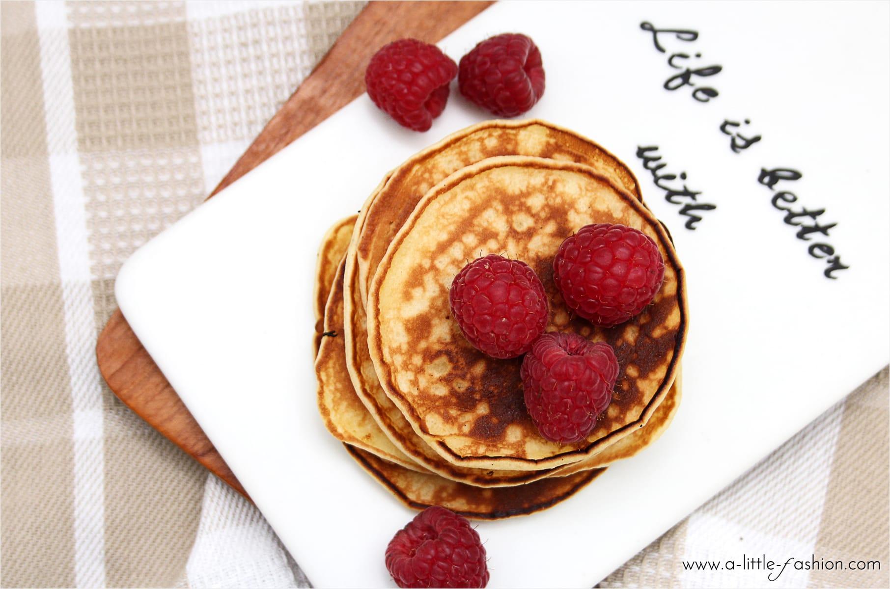 Grundrezept für amerikanische Pancakes | A Little Fashion