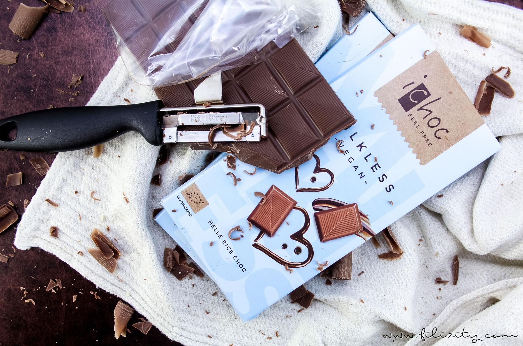 Vegane Schoko-Törtchen mit Brombeer-Fruchtspiegel | Filizity.com | Food-Blog aus dem Rheinland #vegan #dessert #schokolade #torte