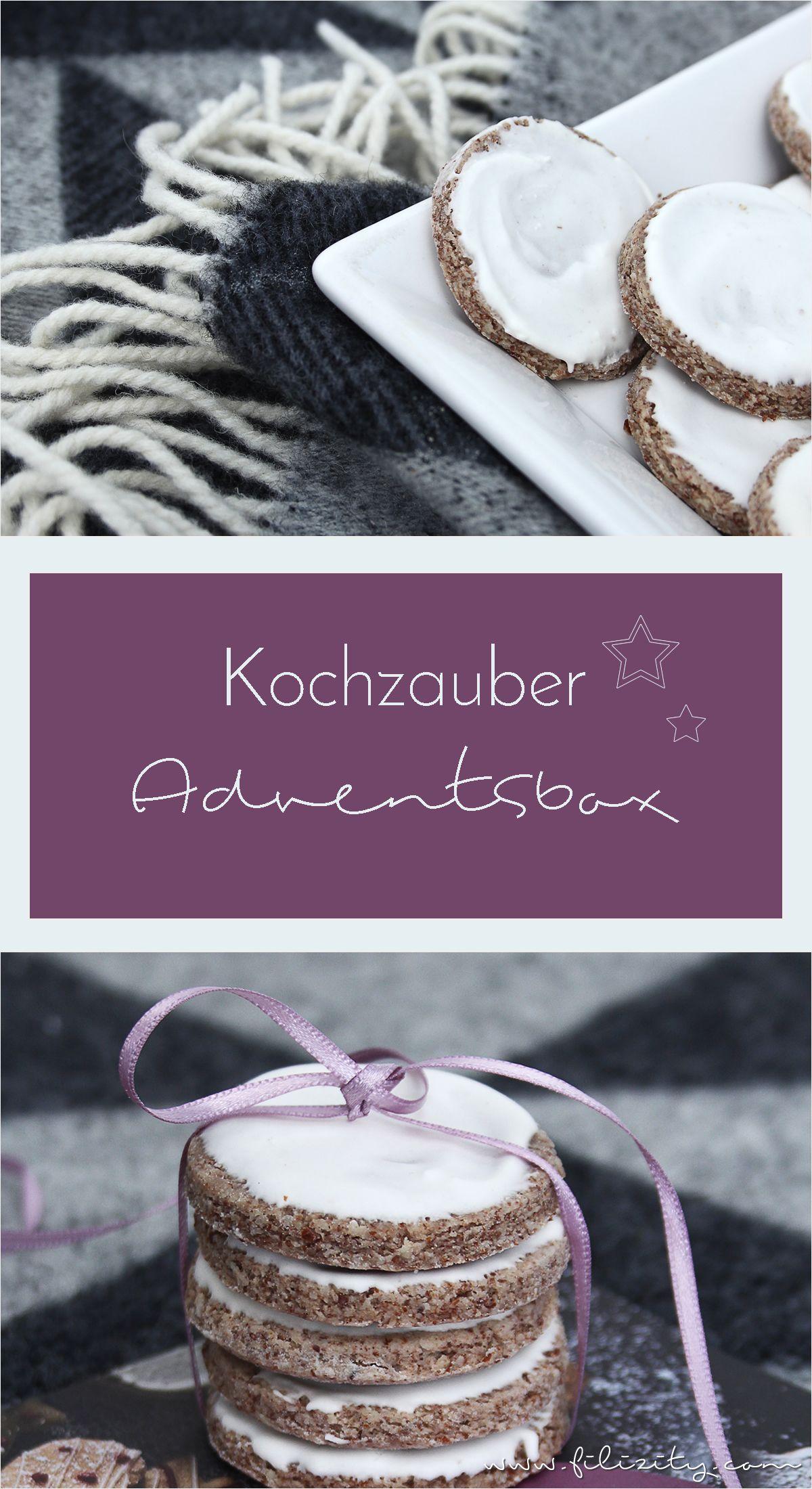 Vorfreude auf Weihnachten: Plätzchen backen mit der Adventsbox von Kochzauber
