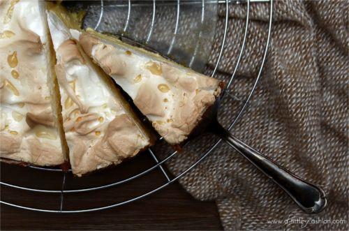Tränchentorte  – Käsekuchen mit Baiserhaube
