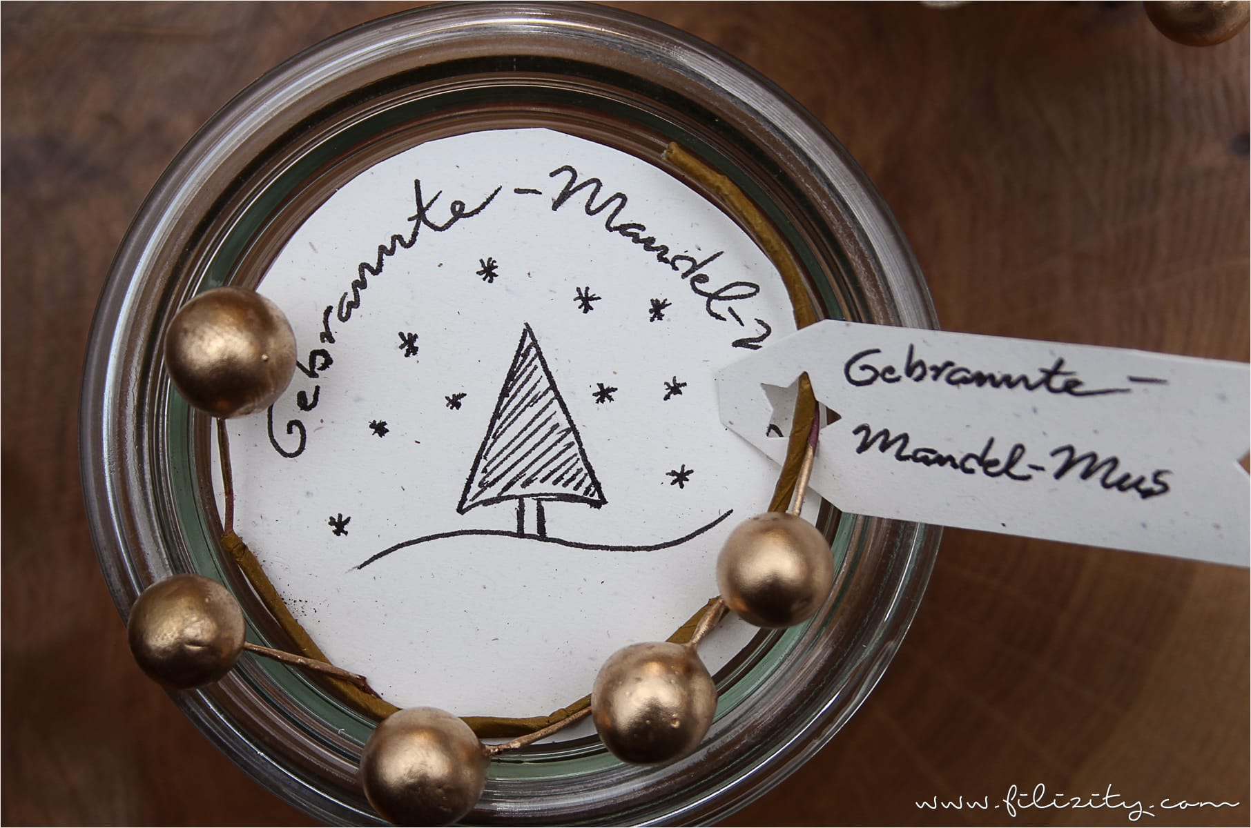 Rezept für weihnachtliches Gebrannte-Mandel-Mus
