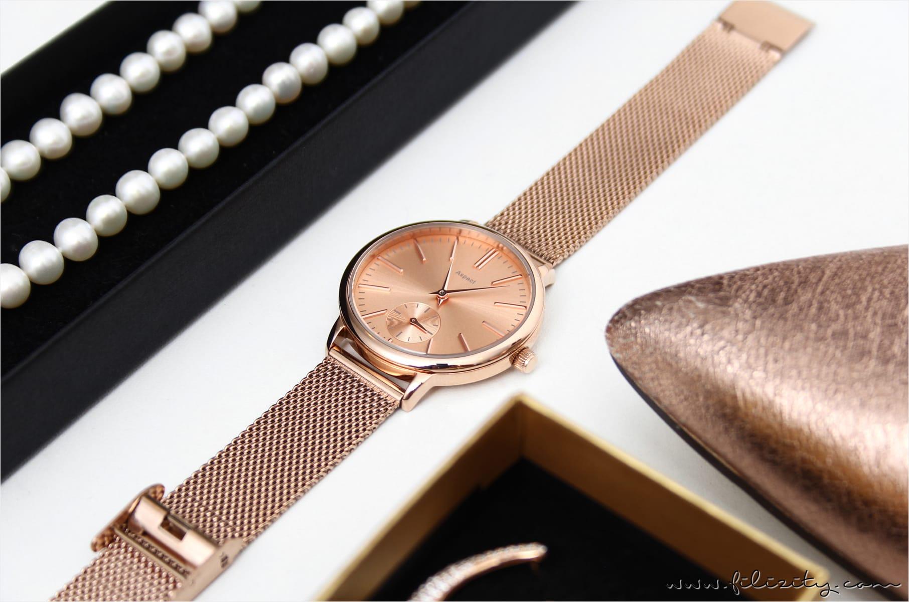 Weihnachtsgeschenke für Frauen: Schmuck und Uhren bei Tchibo
