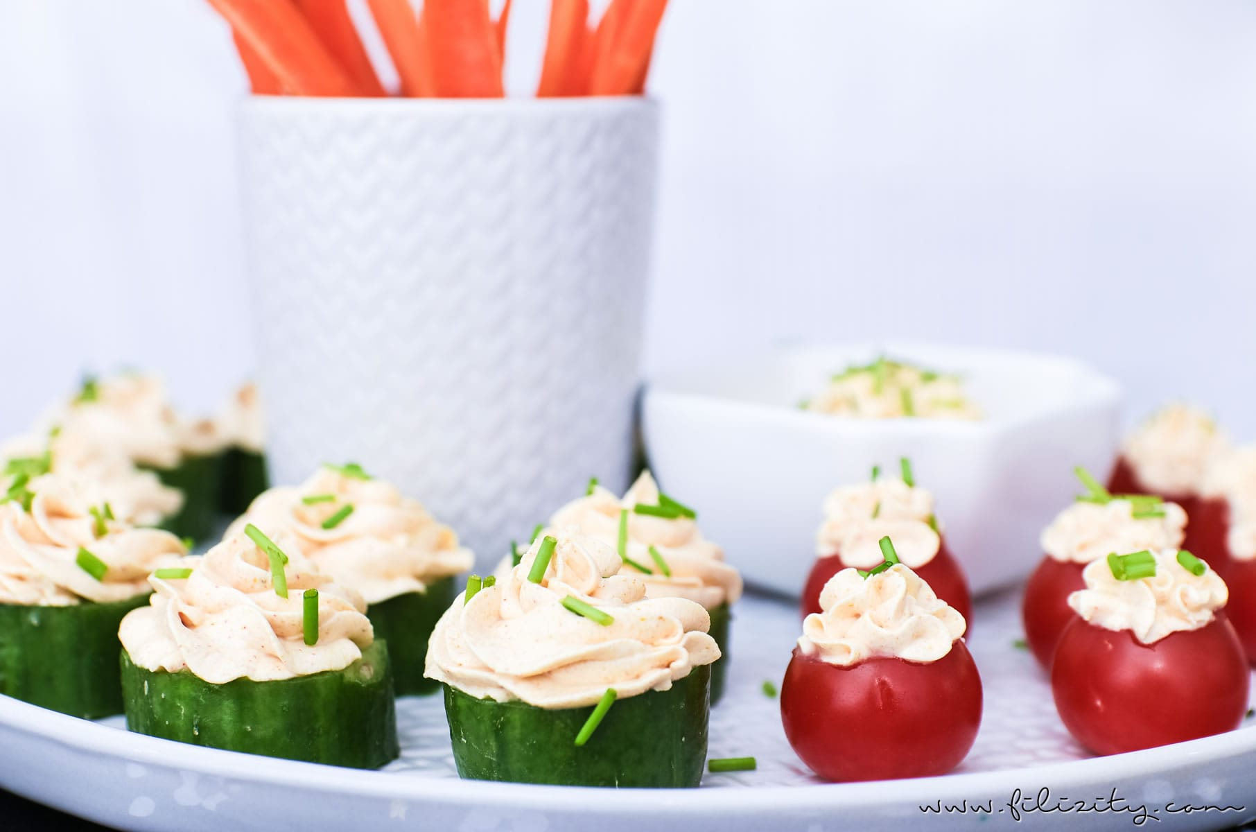Silvester-Rezept: Fingerfood & Curry-Dip für's Party-Buffet | Filizity.com | Food-Blog aus dem Rheinland #silvester #partyfood #party #fingerfood #nye