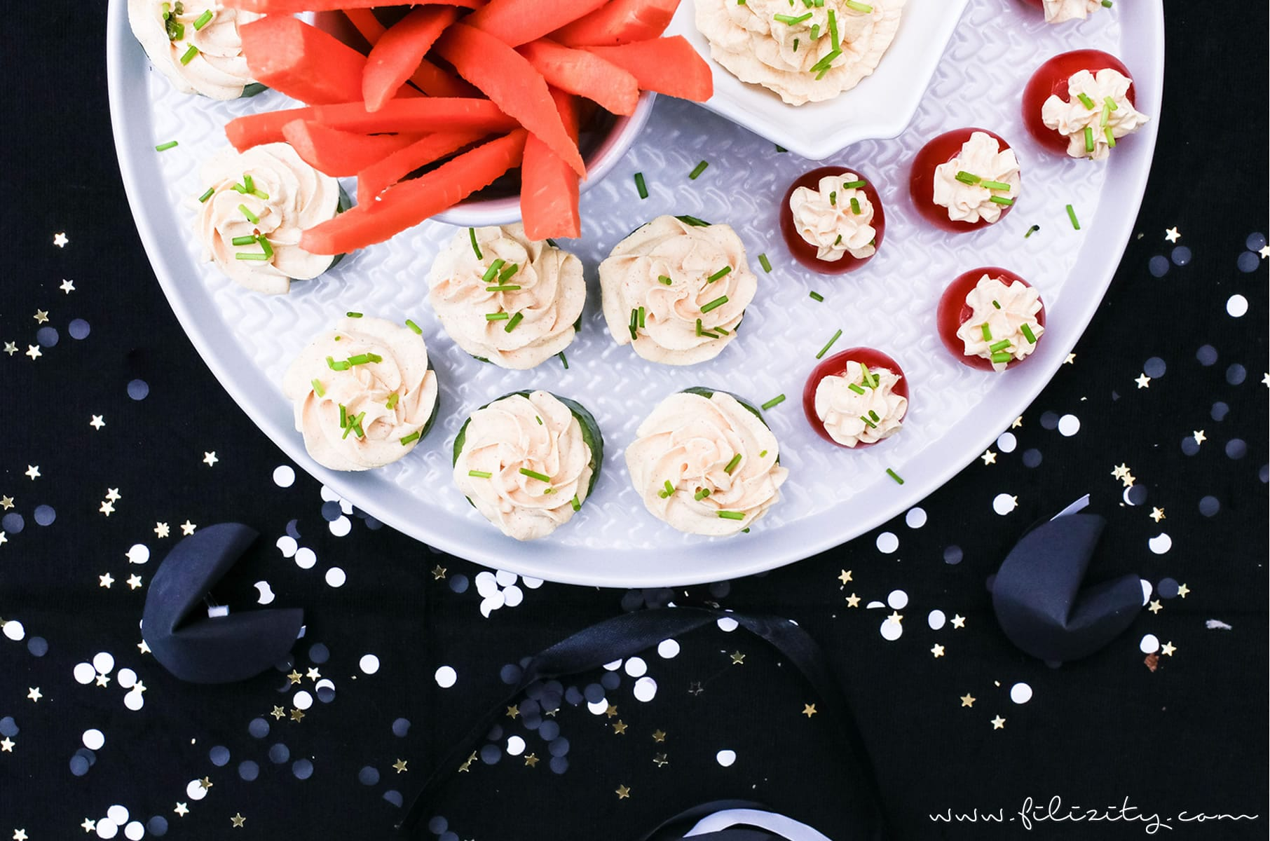 Silvester-Rezept: Fingerfood & Curry-Dip für's Party-Buffet | Filizity.com | Food-Blog aus dem Rheinland #silvester #partyfood #party #fingerfood #nye