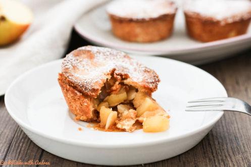 Apfel-Mürbeteig-Küchlein