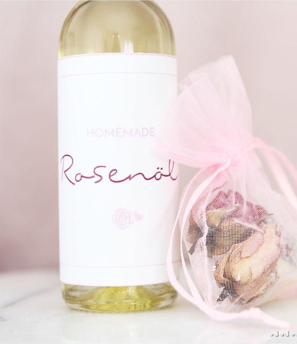 Rosenöl selber machen  – perfektes Valentinstags-Geschenk!