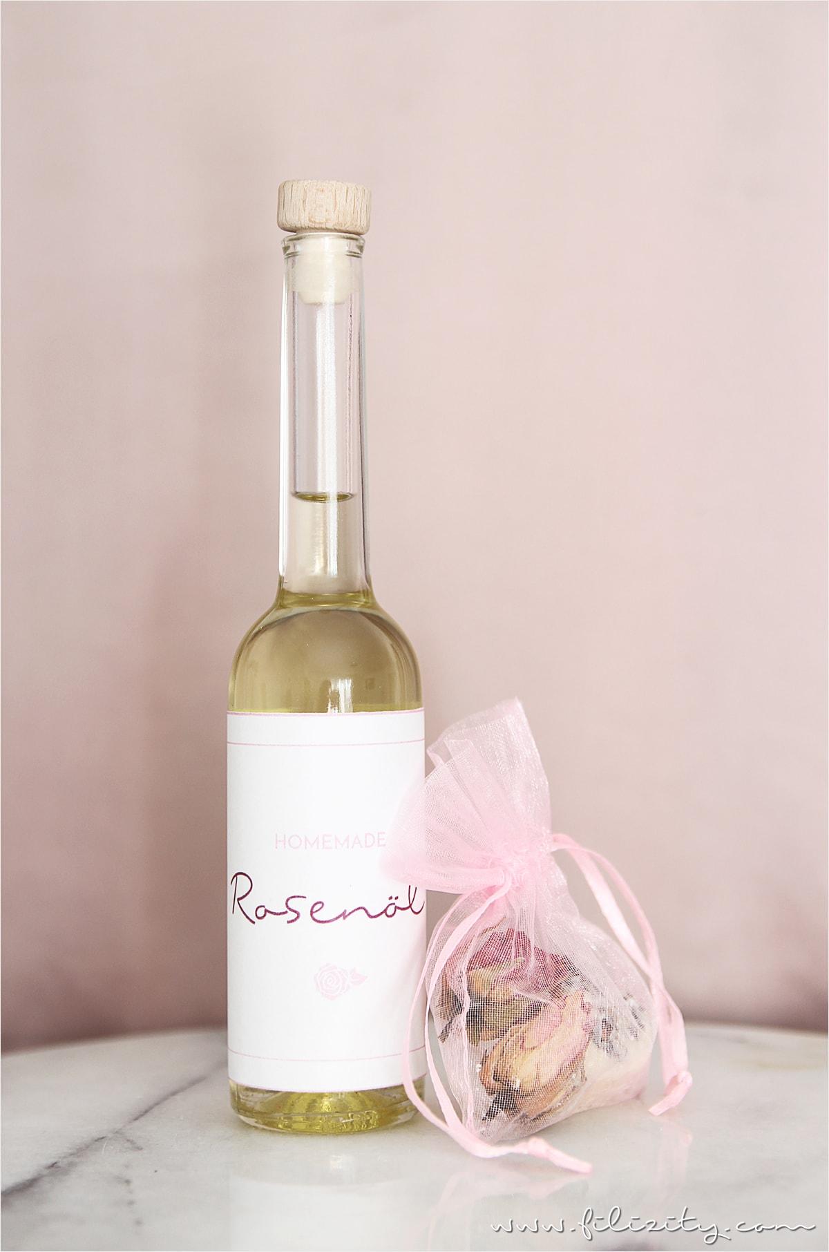 Rosenöl selber machen – perfekte Hautpflege und toles Valentinstags-Geschenk!